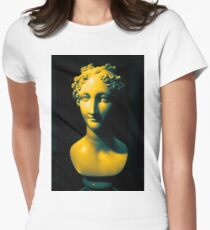 Gradient Scultpure #1 Womens Fitted T-Shirt
