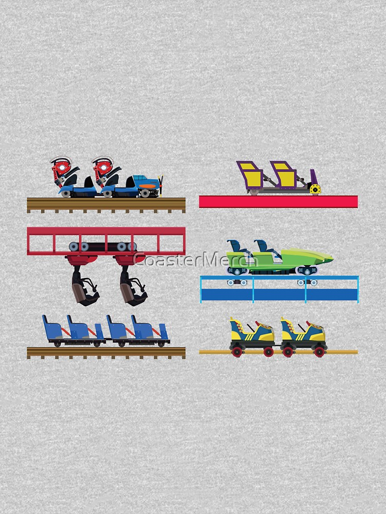 Kentucky Kingdom Coaster Cars by CoasterMerch