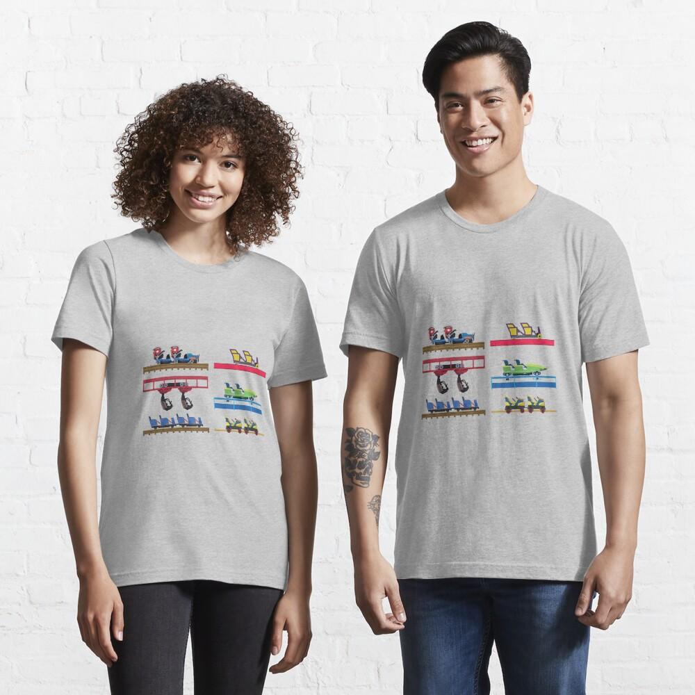 Kentucky Kingdom Coaster Cars Essential T-Shirt