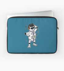 retro robot -the groover t-shirt Laptop Sleeve
