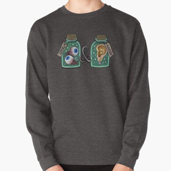 Look and Listen Pullover Sweatshirt