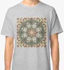 abstract flowers hand drawn and  kaleidoscope mandala Classic T-Shirt