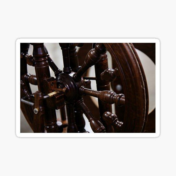 """""""Spinnin' Wheel, Spinnin' True"""" Sticker"""