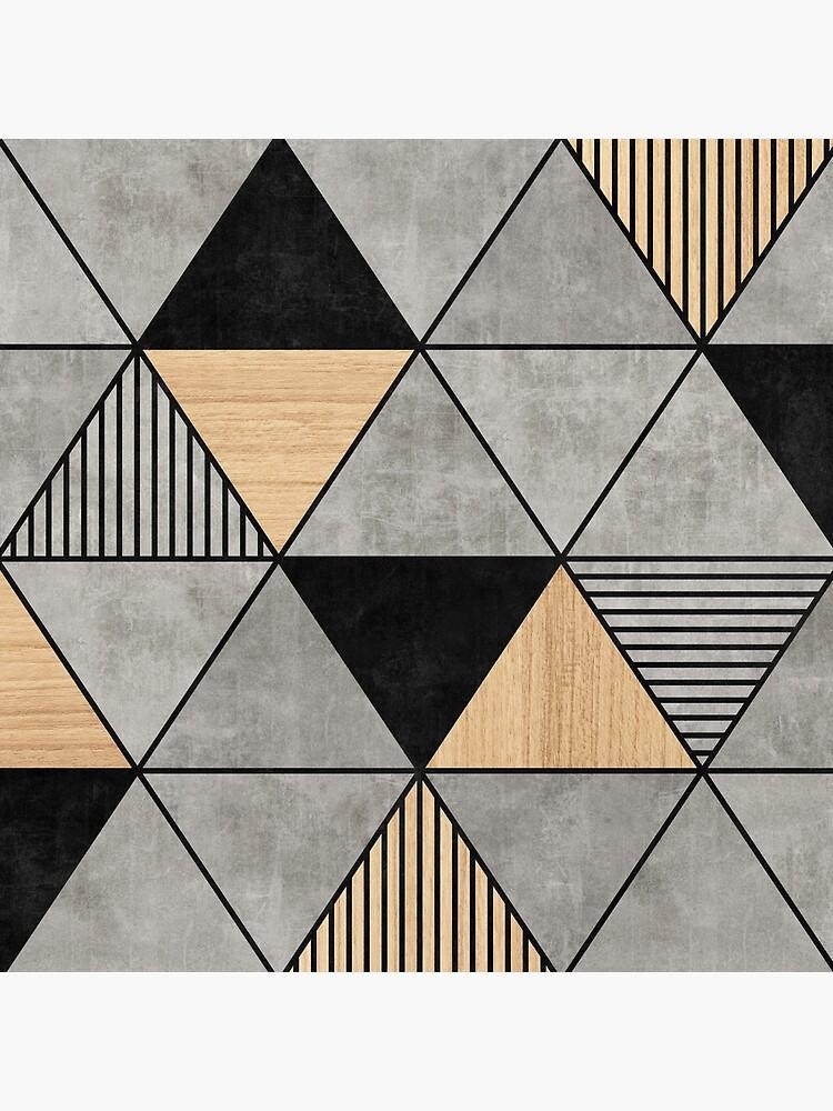 Beton- und Holzdreiecke 2 von ZoltanRatko