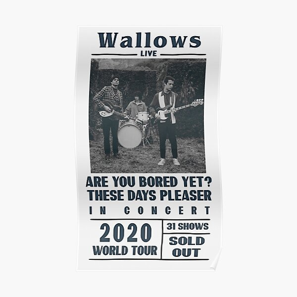 Wallows Beatles style poster Poster