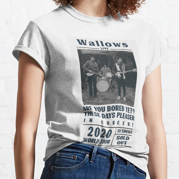 Wallows Beatles style poster Classic T-Shirt