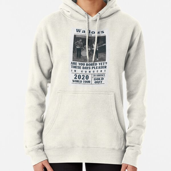 Wallows Beatles style poster Pullover Hoodie