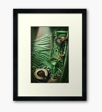 Steampunk - Naval - Plumbing - The head Framed Print