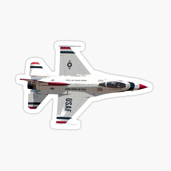 USAF Thunderbird F-16 Sticker