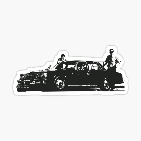 B-Boys Police Car Sticker