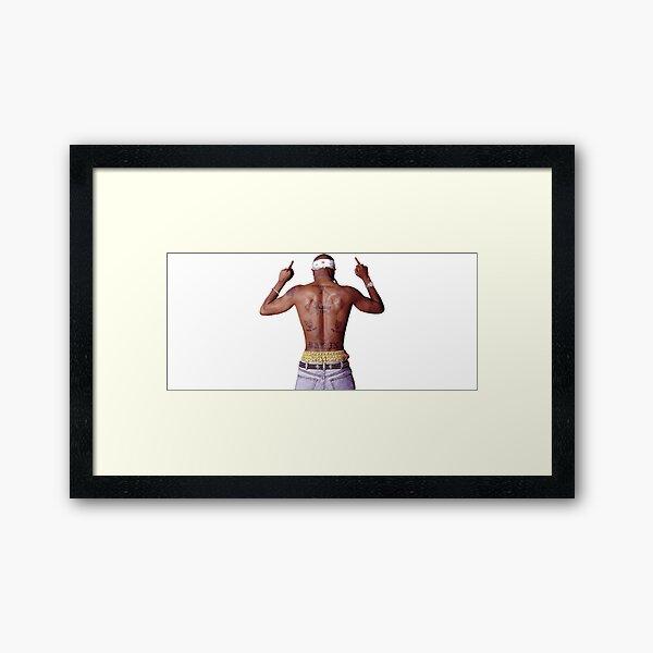 2pac  ( tupac )  Framed Art Print