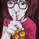 shhhh! by James  Guinnevan Seymour