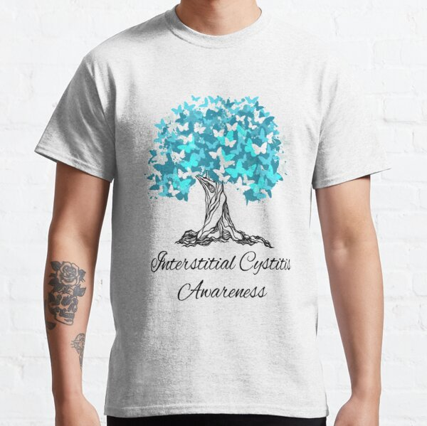 Interstitial Cystitis Awareness Butterfly Support Classic T-Shirt