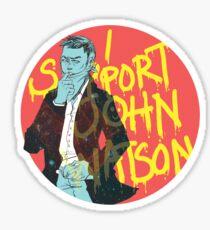 I support John Watson Sticker