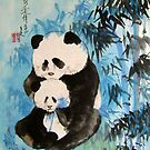 tenderness in the bamboos by zhenlian