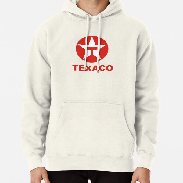 Texaco Oil Potrait Logo Red - Best Seller Pullover Hoodie