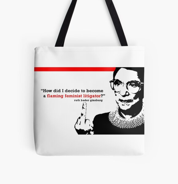 Introvert on Fire All Over Print Tote Bag