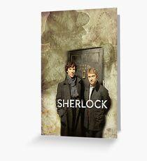 BBC Sherlock Greeting Card