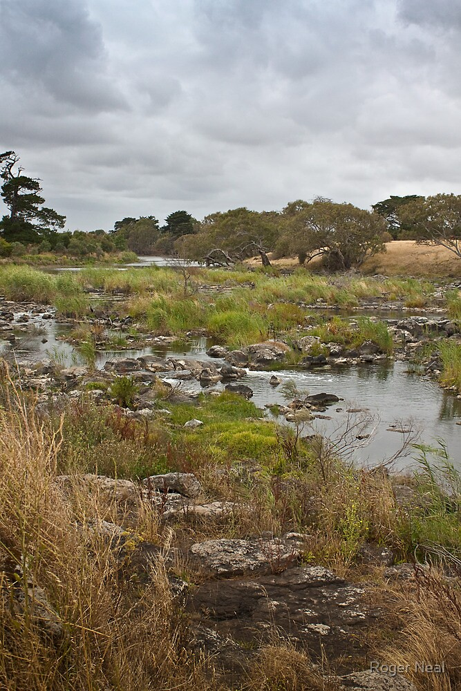 Storm clouds, Hopkins River south west Victoria by Roger Neal
