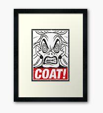 COAT! Cruella De Vil Framed Print