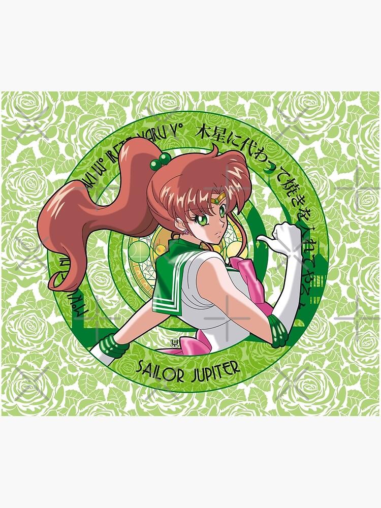 Sailor Jupiter - Sailor Moon Crystal (rev. 1) by alphavirginis
