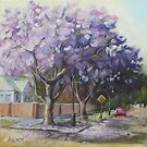 Jacaranda Time by Anny Arden