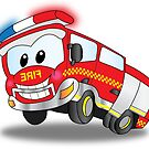 Happy the Fire Truck by Derrick Burgess