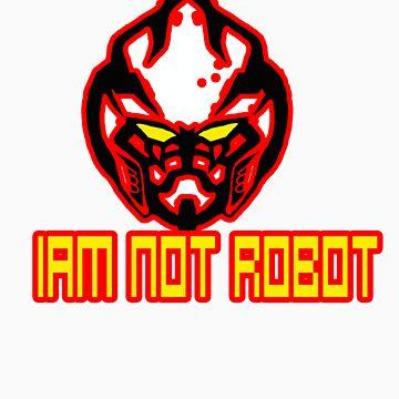 Iam Not Robot by devondad