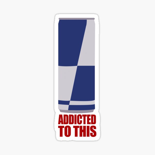 addicted to this Sticker