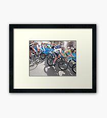 Mark Cavendish at Tour of Britain, London 2011 Framed Print