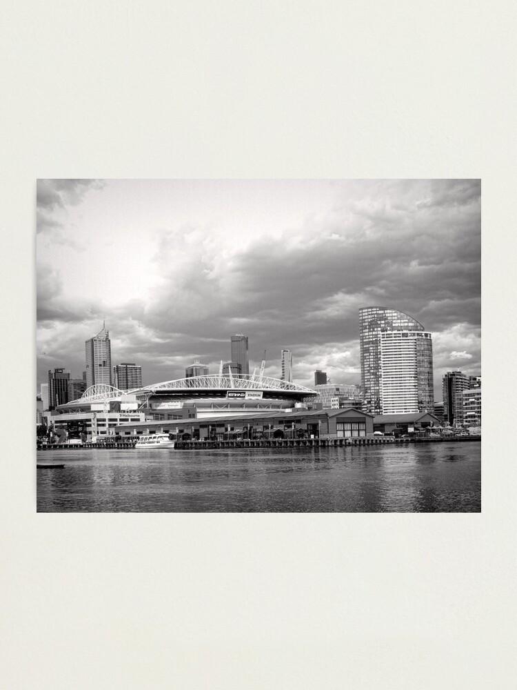 Alternate view of Colonial Telstra Etihad Stadium Dome Photographic Print