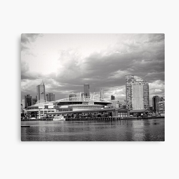 Colonial Telstra Etihad Stadium Dome Canvas Print
