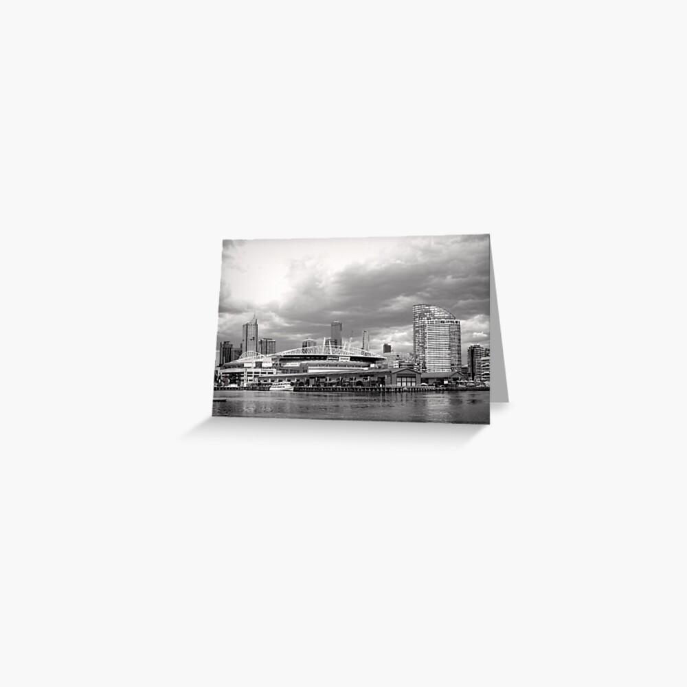 Colonial Telstra Etihad Stadium Dome Greeting Card