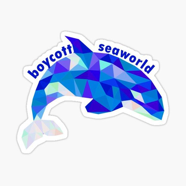 Boykott Seaworld Sticker