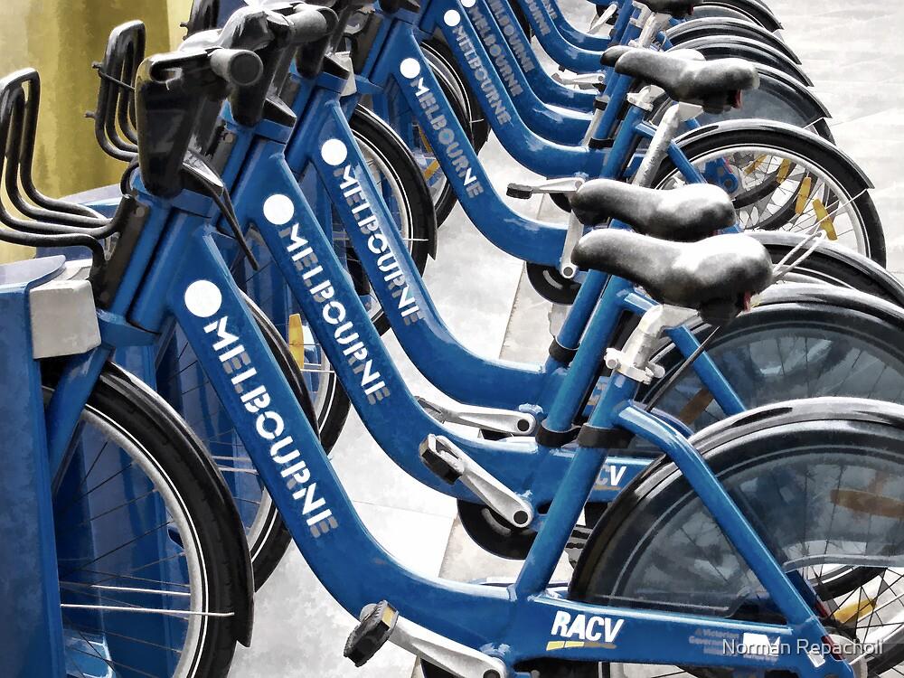 Melbourne Bike Share by Norman Repacholi