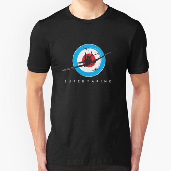 Supermarine Spitfire Design 001 Slim Fit T-Shirt