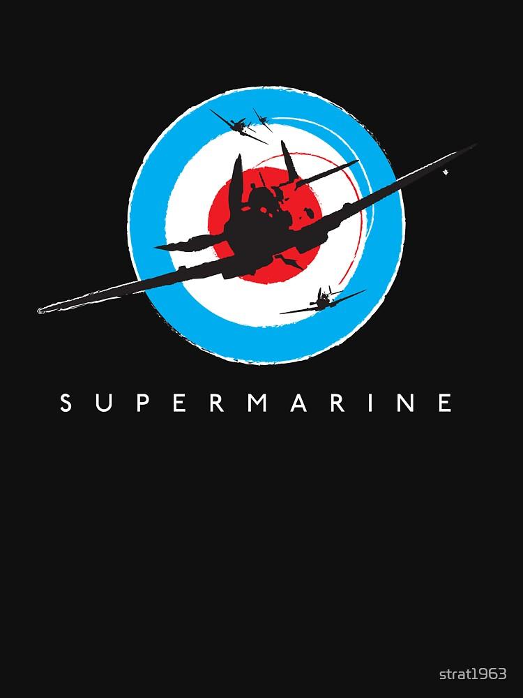 Supermarine Spitfire Design 001 | Unisex T-Shirt