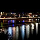 Brisbane Night by Stephen Monro