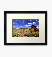 Dunny At Bodie Framed Print