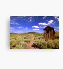 Dunny At Bodie Canvas Print