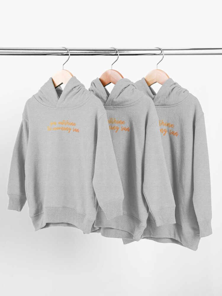 Alternate view of Dear Theodosia Toddler Pullover Hoodie