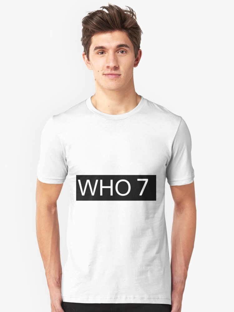 Who 7 Unisex T-Shirt Front