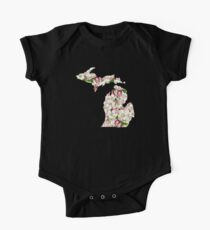 Michigan Flowers Kids Clothes