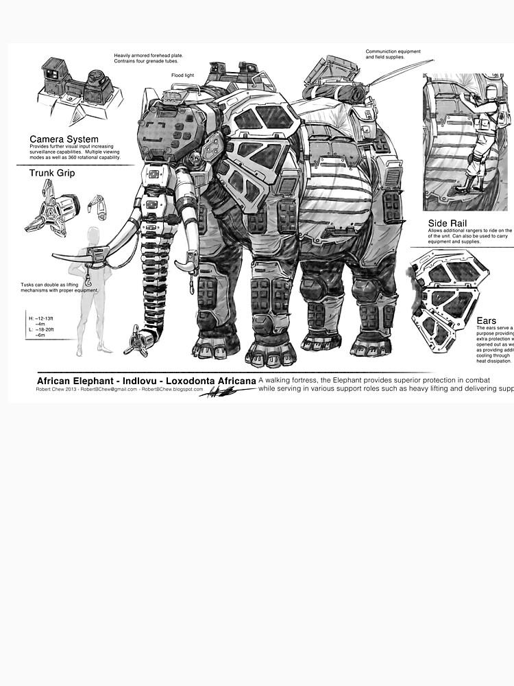 mechanical elephant  by yuxinsun