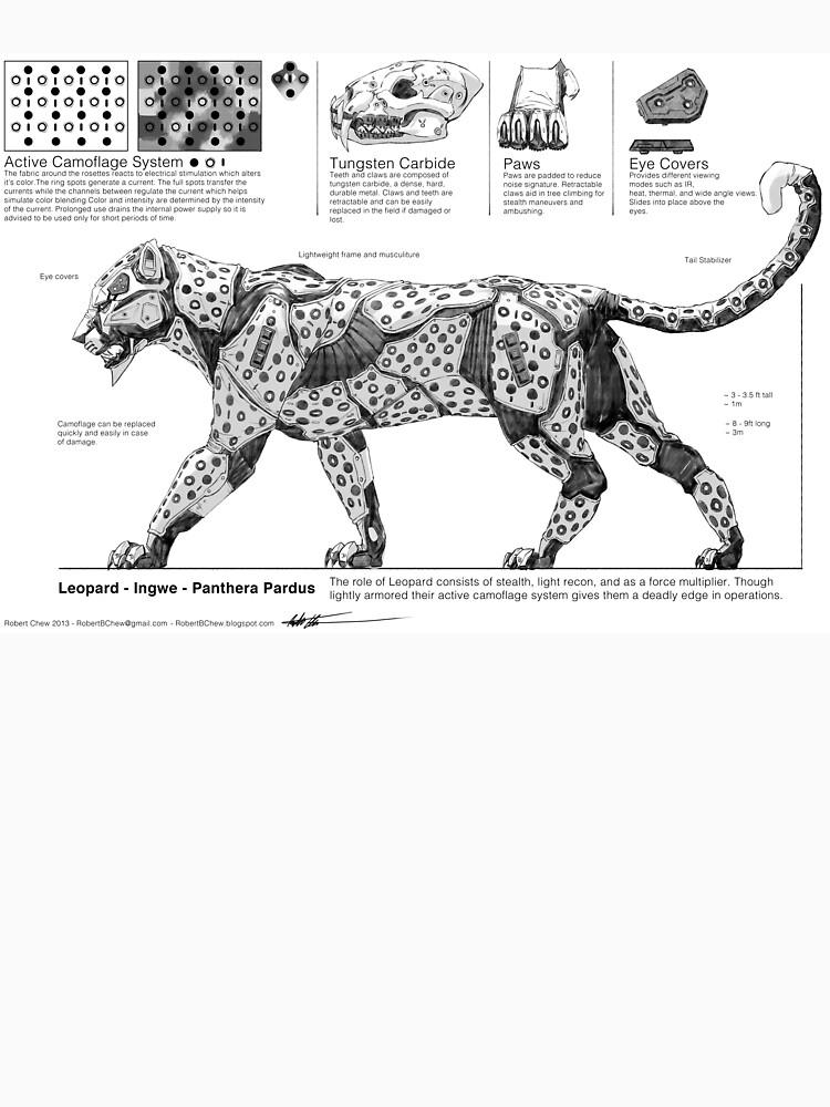 mechanical leopard by yuxinsun