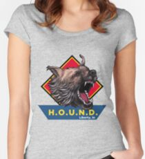 H.O.U.N.D Liberty, In shirt Women's Fitted Scoop T-Shirt