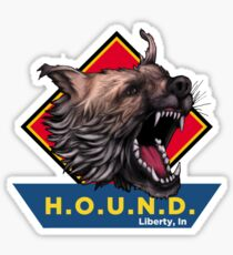 H.O.U.N.D Liberty, In shirt Sticker