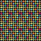 Poke-A-Dots - Black [iPhone case] by Didi Bingham