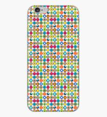 Poke-A-Dots - White [iPhone case] iPhone Case