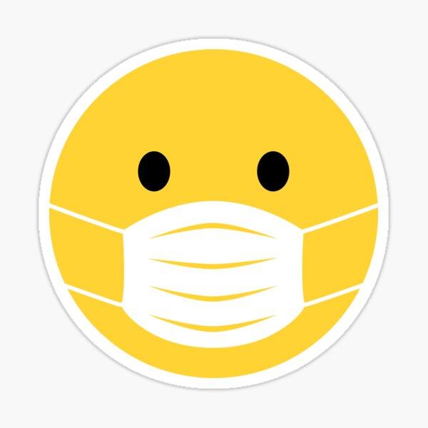 Stickers sur le thème Masque Emoji | Redbubble